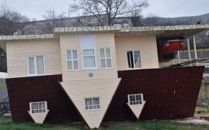 дом перевертышь в ялте