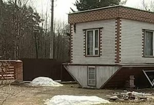 дом вверх дном в Репино, Ленинградской области