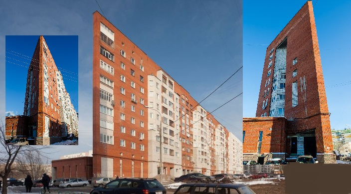 строительство необычного плоского дома в Нижнем Новгороде